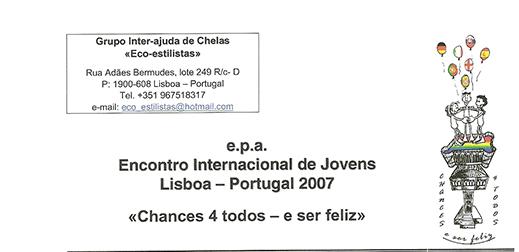Prémio boas práticas e melhores anfitriões UE - 2007